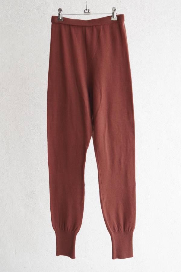 AURALEE - super soft wool knit tights