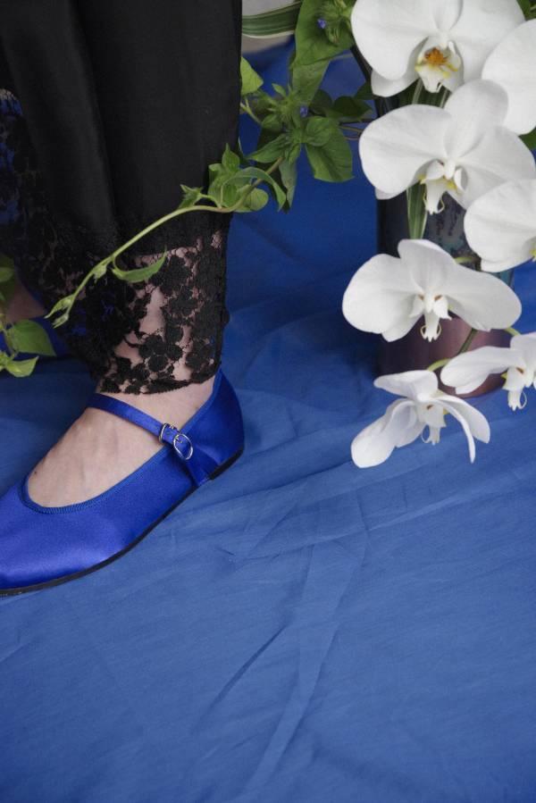 好好穿功夫鞋 - 寶藍