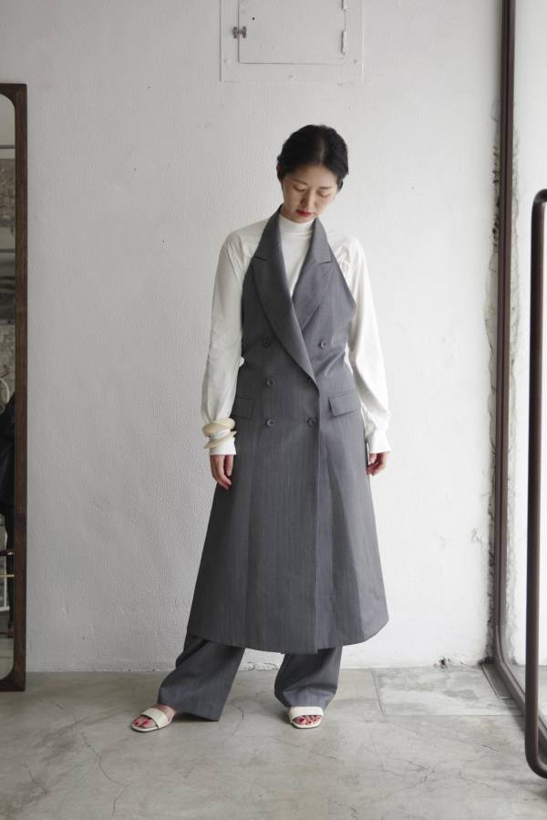 pelleq - dorchester waistcoat dress