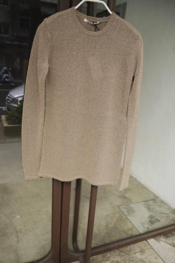 AURALEE - crisp loop yarn knit P/O