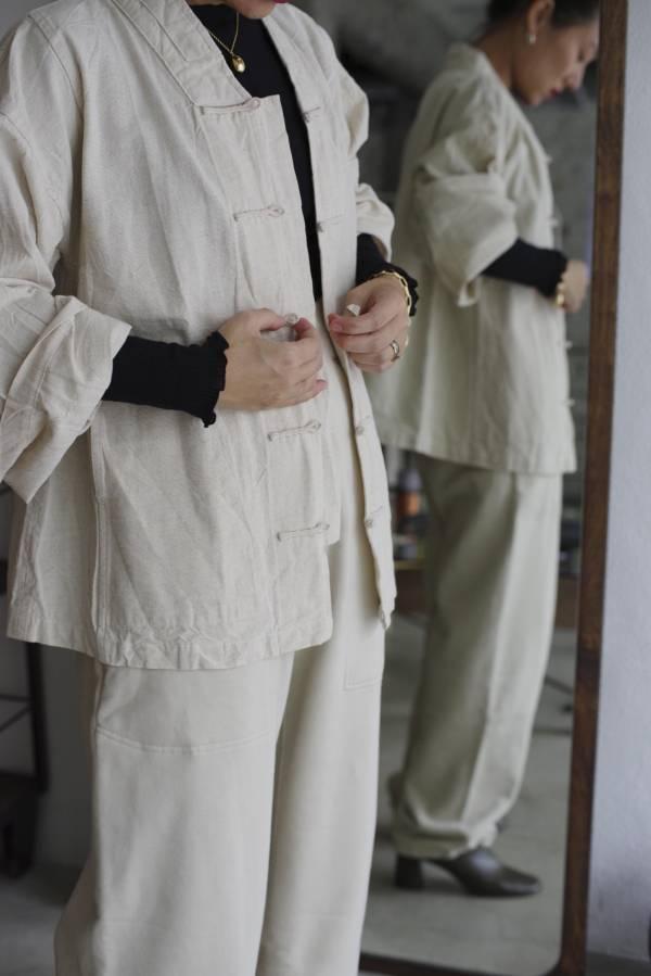 鄭惠中 - 對襟盤釦
