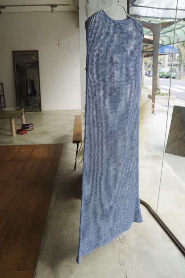 AURALEE - mohair wool mesh knit one-piece