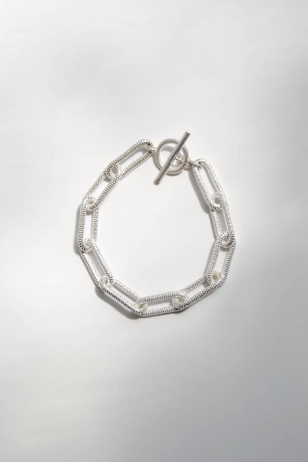 R.ALAGAN - heavy chain bracelet