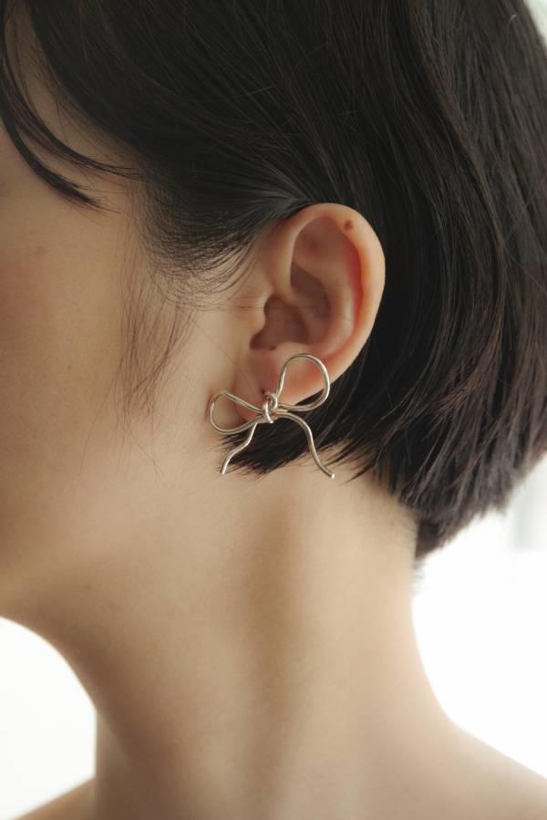 ST, CAT - bow pierce / silver