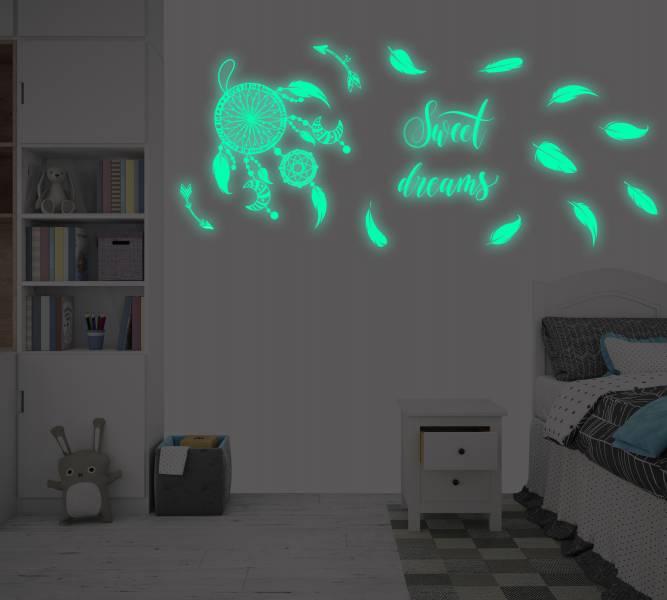 隨變貼-夜光系列 捕夢網