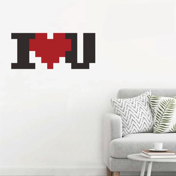 拼圖貼貼 我愛你 靜電,無痕,無殘膠,壁貼,居家,辦公,易貼易撕,佈置,拼圖,DIY