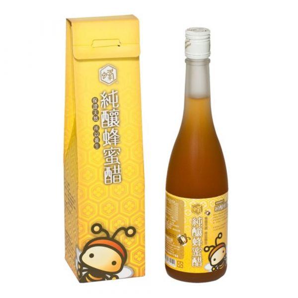 蜂國純釀蜂蜜醋500ml (可搭配花粉與蜂蜜製作蜂蜜花粉醋,清涼消暑!)
