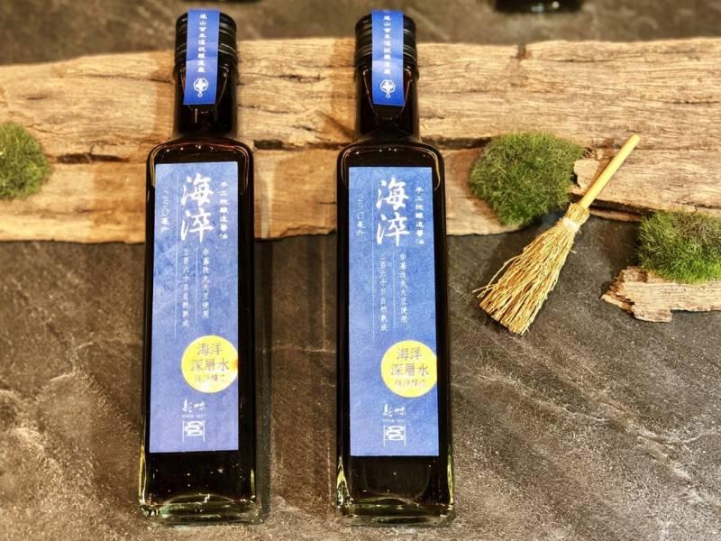 新味極純海淬醬油250ml/瓶(適合生魚片、海鮮類;素食者拌燙青菜風味更特殊) 花蓮