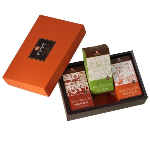 L007故事集禮盒 ( 紅寶石/紅玉/阿薩姆 ,三款 立體茶包 每盒6包裝)