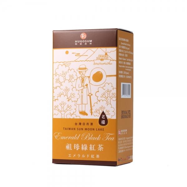 L005紅茶故事集 - 祖母綠(立體茶包6包裝)