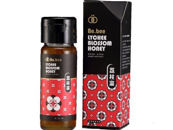 H012-BeBee 荔枝蜂蜜  420g (荔枝蜜:花期每年三月份,荔枝蜜呈淺琥珀色,蜜味芬芳馥郁,具有強烈荔枝花香,特性易結晶。) 天然蜂蜜  蜂蜜