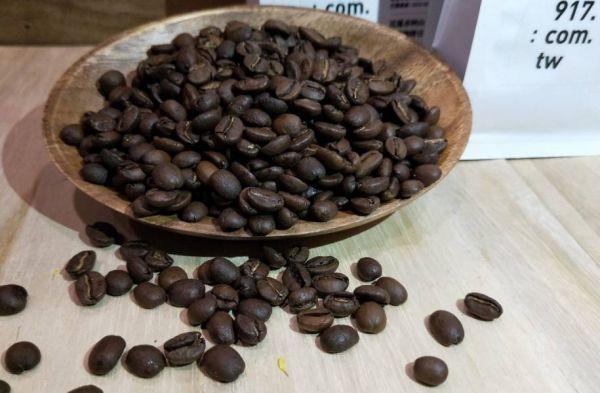 917有機莊園 有機認證100%台灣栽種 咖啡豆227g /包  ,【共5包 】 採中度烘焙  產地:花蓮赤柯山  (多一道發酵程序,風味更有層次) 有機咖啡