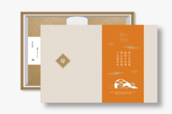 A008企業禮盒C組-金針花乾 60g+段木香菇 80g+環保袋(入企業識別可LINE@洽詢客服)