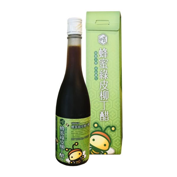 【新上市】蜂蜜綠皮柳丁醋 500ml (2入特價$900)