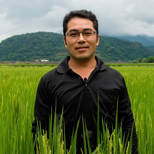 X002台農71號(益全香米)禮包-1包,2KG/包  產地:花蓮縣玉里鎮 花蓮好米,夏俊傑,綠生自然米,稻米,白米,優質好米