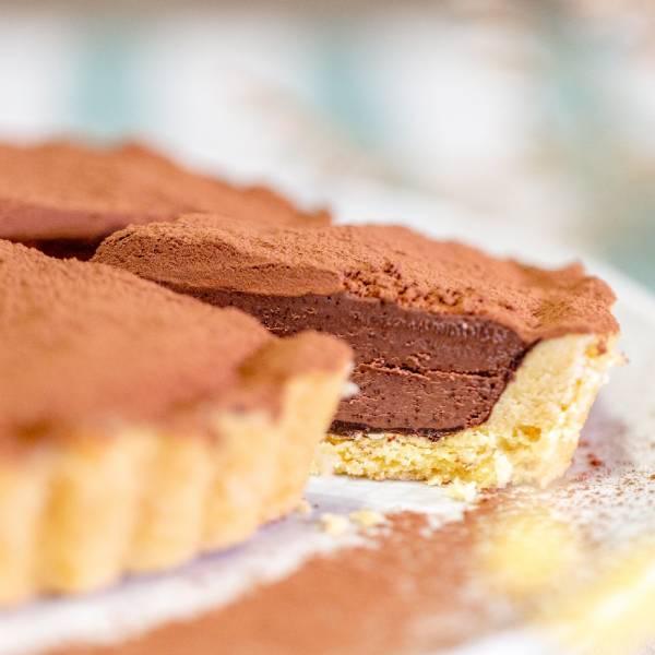 【生酮】髒髒巧克力塔-6吋 台北美食,信義區,生酮甜點,巧克力,蛋糕,健身美食,生酮飲食,低碳