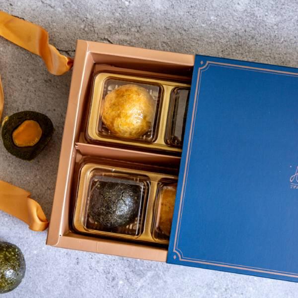 復古甜星月餅禮盒組 甜野新星、中秋月餅、中秋節、無糖、無麩、生酮飲食、低負擔甜點、甜點