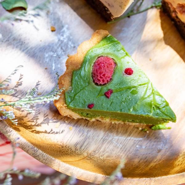 【生酮】抹茶覆盆莓塔-9吋 台北美食,信義區,生酮甜點,抹茶,蛋糕,健身美食,生酮飲食,低碳,檸檬