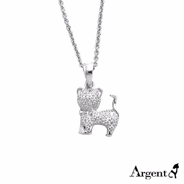 晶鑽小貓造型雕刻純銀項鍊銀飾|銀項鍊推薦 銀項鍊推薦