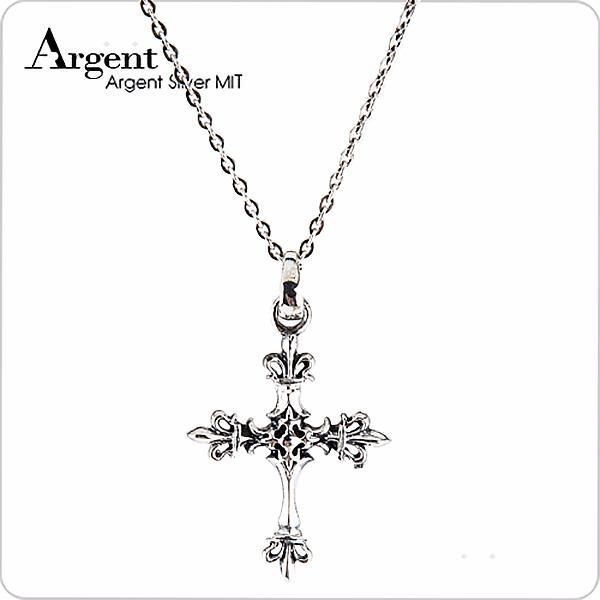 皇家十字造型純銀項鍊銀飾|銀項鍊推薦 銀項鍊推薦