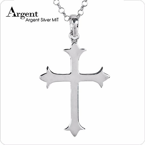 聖十字(大)造型純銀項鍊銀飾 銀項鍊推薦 銀項鍊推薦