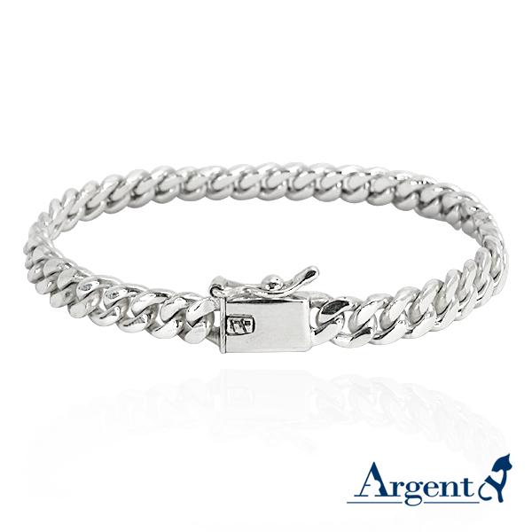 细款「扁链」经典系列纯银手链|925银饰 纯银手链