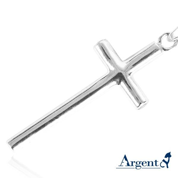 藏鑽十字鑲鑽造型純銀項鍊銀飾|銀項鍊推薦 銀項鍊推薦