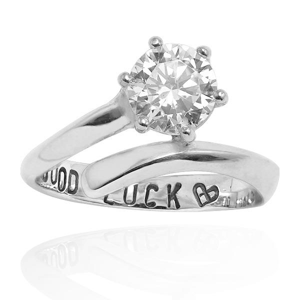 銀飾體驗課程-金工教學-曲線單鑽戒指(課程無法使用點數折抵) 自製戒指