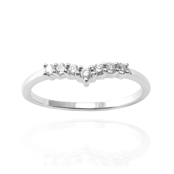 """""""Deep love"""" lover sterling silver ring 