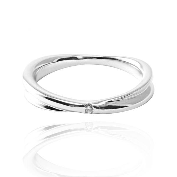 單戒-「熱情擁抱(男款3分)(14K/18K 培育真鑽)」K金戒指|戒指推薦(單只價) K金求婚戒推薦