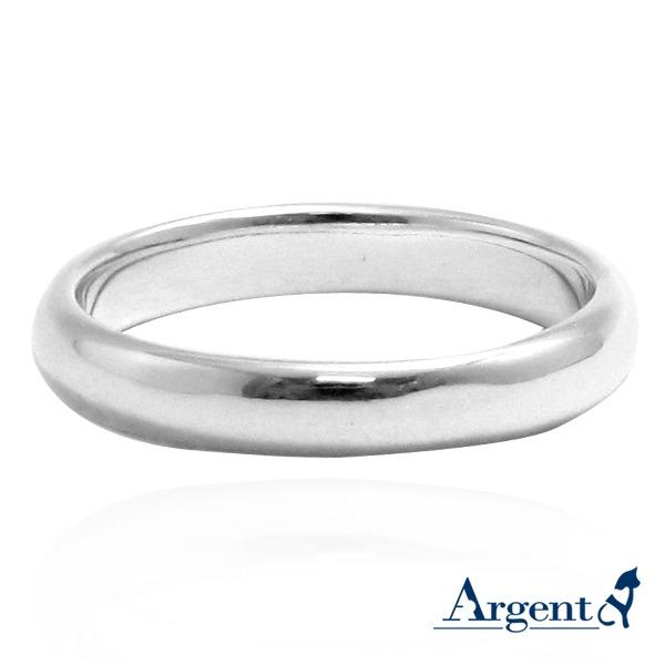 「素雅(3/4/5/6mm)」純銀戒指|925銀飾戒指推薦 戒指推薦