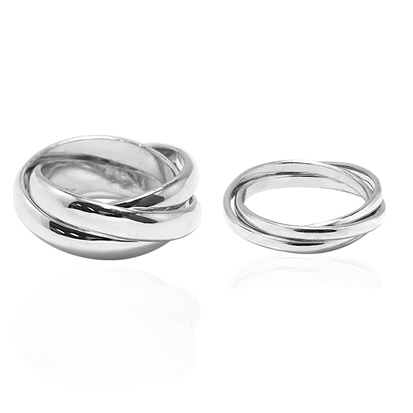 Tricycle couple silver sterling silver ring | Couple ring recommended 對戒推薦