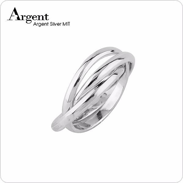 純銀三環戒(寬/細版)(無刻字無電鍍)設計造型純銀戒指|925銀飾戒指推薦(單只價) 戒指推薦