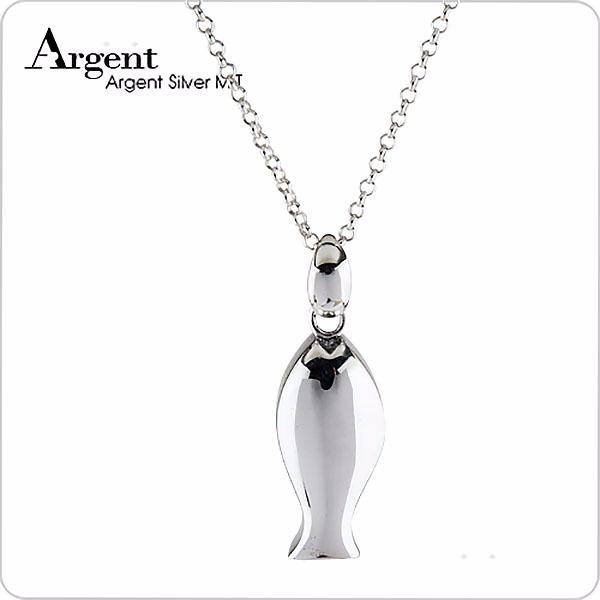 哨子魚可愛造型純銀項鍊銀飾|銀項鍊推薦 銀項鍊推薦