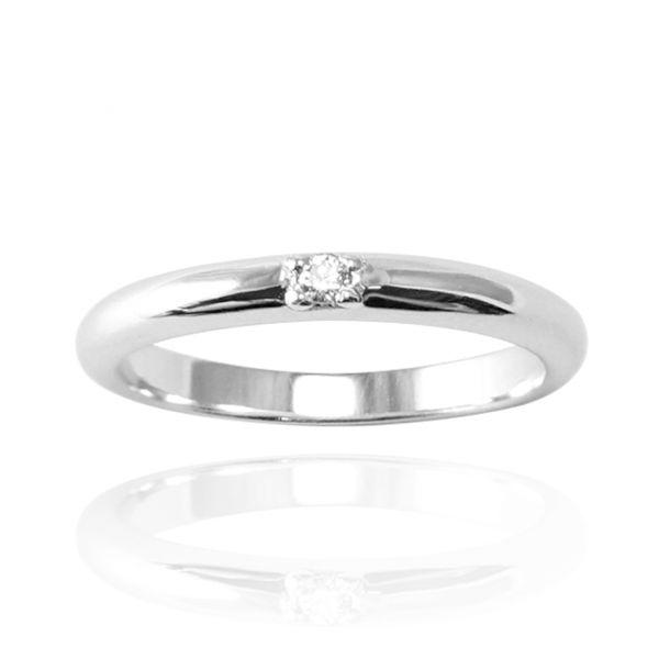單戒-「專情(女款3分鑽)(14K/18K金+培育真鑽)」K金戒指|戒指推薦(單只價) 求婚告白戒指推薦
