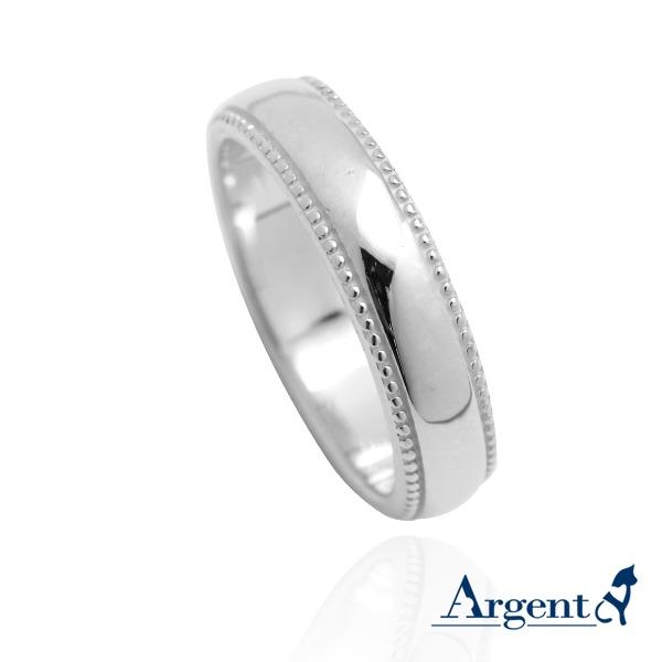 「浪漫滾珠(男5mm/女4mm)純銀戒指|925銀飾戒指推薦(單只價) 戒指推薦