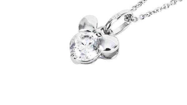 項鍊-浪漫情結(白K金) 銀飾推薦