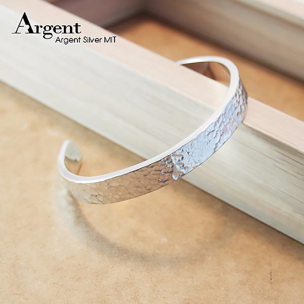 10mm「甜蜜烙印」手工系列純銀手環|925銀飾 純銀手環