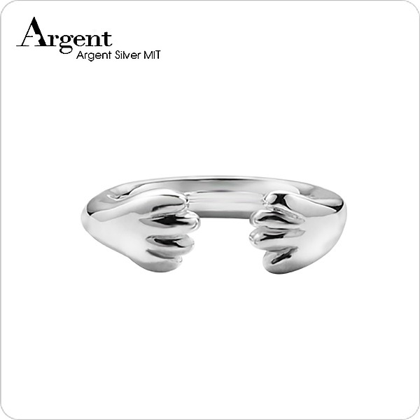 「貓爪」動物造型雕刻純銀戒指|戒指推薦 戒指推薦