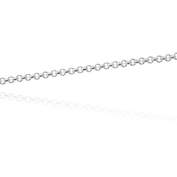 純銀單鍊-小圓鍊5.5mm 24吋(60cm)