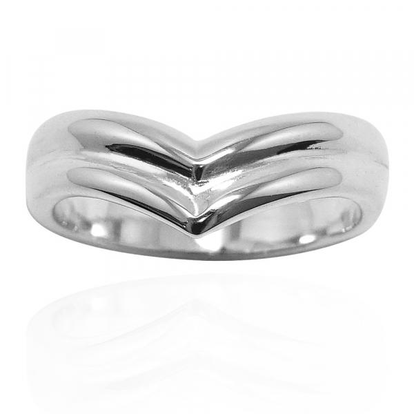 「深愛」無鑽寬版純銀戒指|戒指推薦 戒指推薦