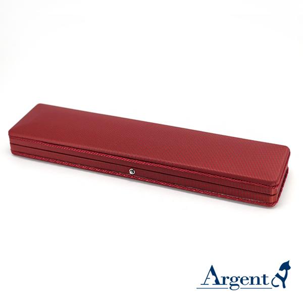 布紋手鍊盒(紅(黑底)-飾品收納盒|收納手飾盒 飾品收納盒