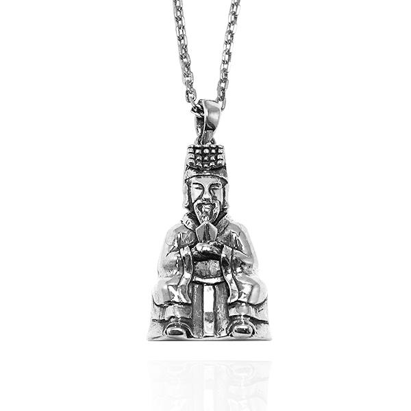 「玉皇大帝」神明系列銀飾|銀項鍊推薦 神明項鍊