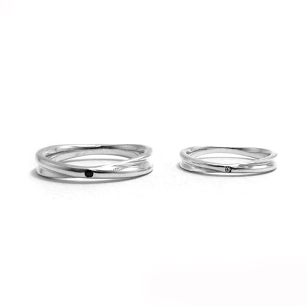 Faithful diamond lover silver sterling silver ring | couple ring recommend 對戒推薦