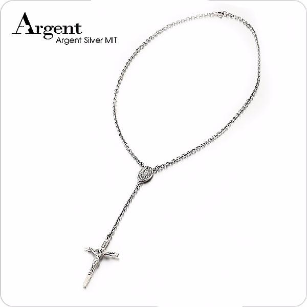 耶和華十字INRI純銀項鍊銀飾 銀項鍊推薦 銀項鍊推薦