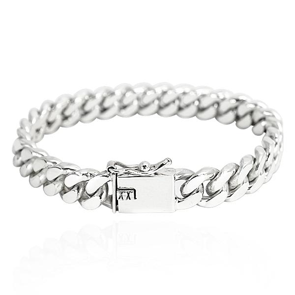 粗款「扁链」经典系列纯银手链|925银饰 纯银手链