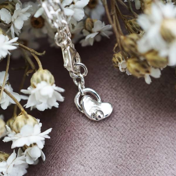「BABY奶嘴」純銀手鍊|925銀飾可做彌月送禮baby手鍊 嬰兒手鍊