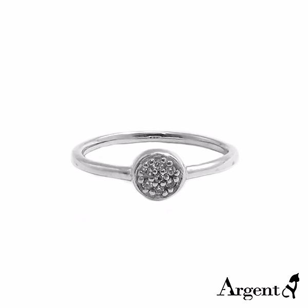 晶鑽圓滴雕刻純銀戒指|戒指推薦 戒指推薦