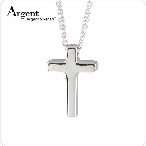 小十字架造型純銀項鍊銀飾|銀項鍊推薦 銀項鍊推薦