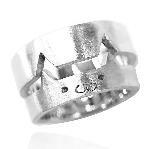 銀飾體驗課程-金工教學-貓咪組合對戒指(2人各一只)(課程無法使用點數折抵) 情侶手作戒指